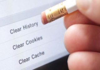 cara clear cookie cache browser