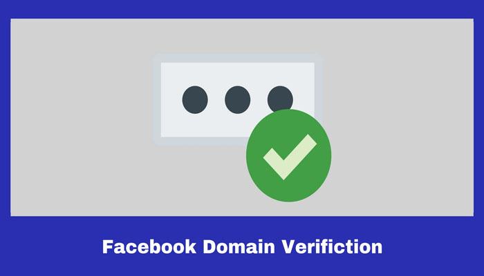 Verifikasi Domain Facebook